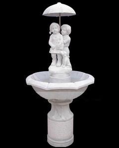 Outdoor garden marble fountain