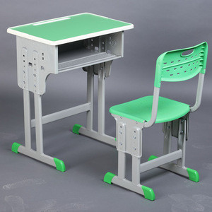 School Classroom Student Desk with Chair Set Study Table School Furniture