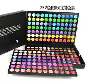 Top quality 252 colors eye shadow make up kits