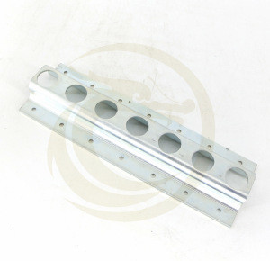 TR2001S Galvanized Steel Cargo Control O Track Tie-Down Rail For Truck Body Parts