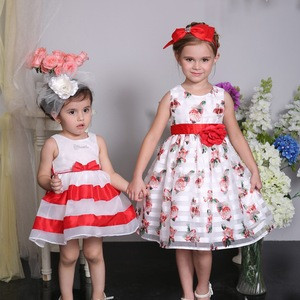 Two age group fashion girl dress, baby girl party dress children frocks designs
