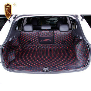 Universal Customized Car Trunk Mats Best Waterproof Leather 3D 5D Mats Fit For 16-19Nissan QASHQAI