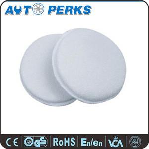 White Hot sales Car Wax Applicator Microfiber Pad
