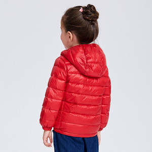 Wholesale colorful full size all color kids winter goose down jacket in stock on sale