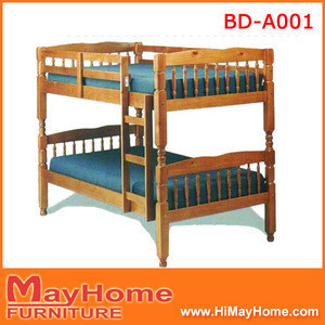 Wholesale customizable bunk wood beds for kids made in china