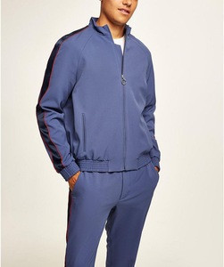 Wholesale mens sports wear costumes slim fit tracksuits