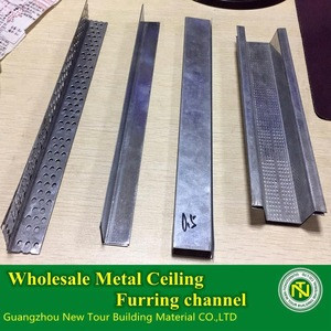Wholesale Profession Manufacturer Metal Ceiling furring channel