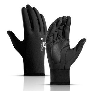 Windproof wholesale winter motowolf motorcycle bike riding warm gloves