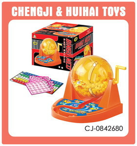 Wonderful cartoon table machine plastic toy bingo