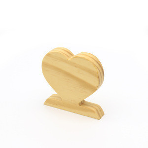 Wooden heart shaped photo frame / photo stand /photo holder