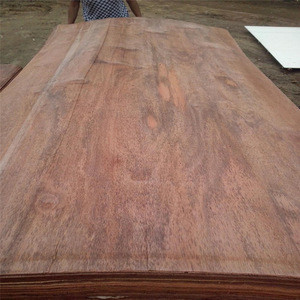 0.30mm red color commercial veneer for india market