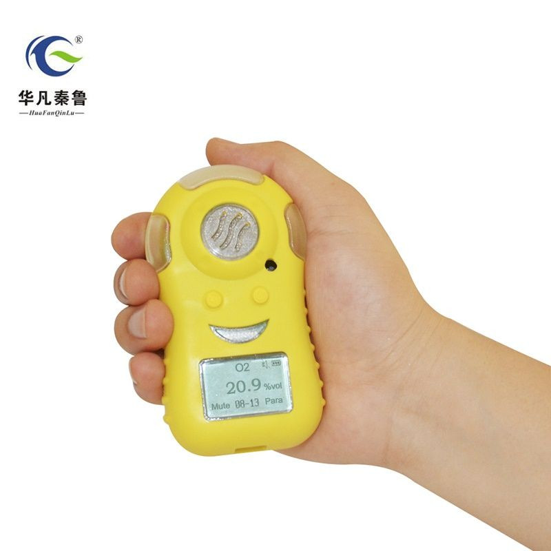 Portable rechargeable oxygen concentration O2 analyzer