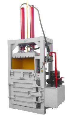 Hydraulic Scrap Baler plastic paper straw Press Baling machine