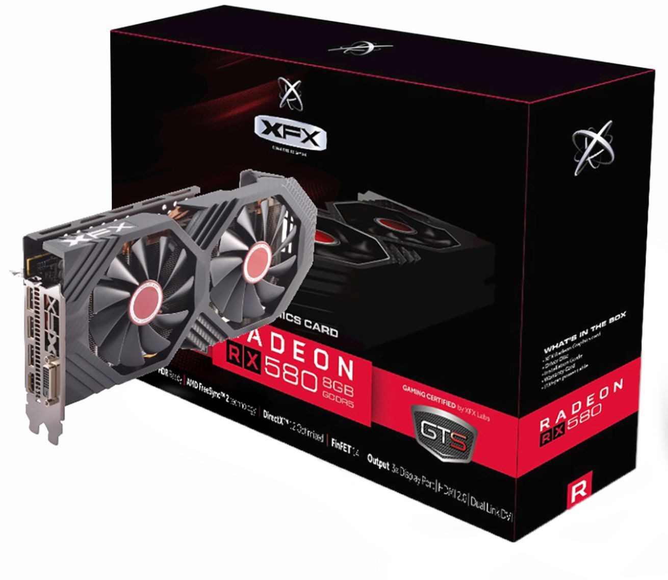 NEW XFX AMD Radeon RX 570 Black Edition 8GB GDDR5 Graphics Card - Fast Shipping