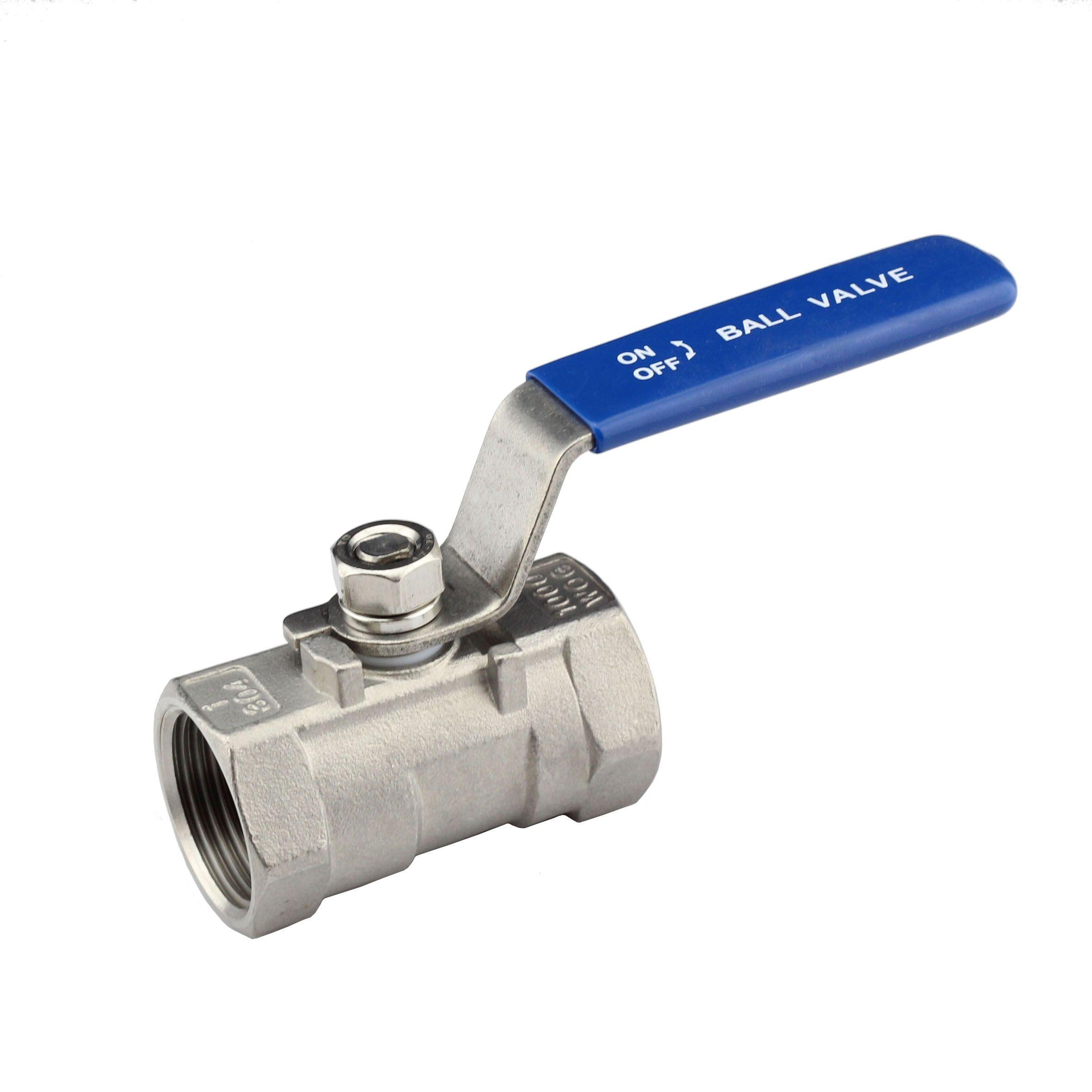 Stainless steel ball valves