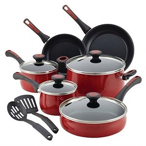 12 pcs aluminum nonstick cookware set