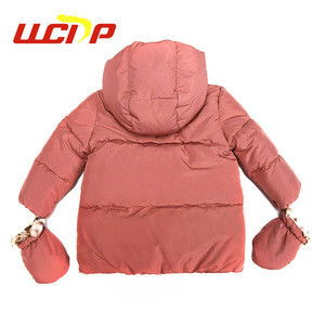 2019 korean fashion fancy cheap price thick baby girl designer winter jacket