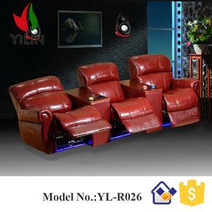 3D,4D,5D motion chair seat cinema movie theater recliner sofa ,cinema room furniture