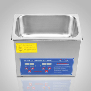 3L Stainless Steel Digital Timer 220W Heater Ultrasonic Cleaner