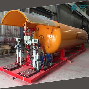 5000L~120000L Safety Valve Liquefied Propane Gas Storage Tank