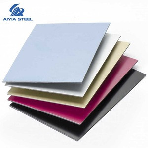 AIYIA various aluminum cald panel for curtain wall  ACP material / ACM panel / colors aluminum composite panel