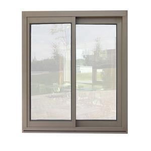 Aluminum sliding door and window