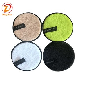 Bamboo Cotton Rounds Padswith Laundry Bag 3 Layers nursing makeup remover pads