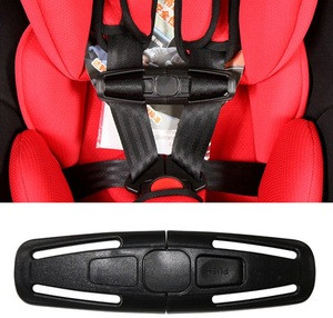 Black Baby Car Safety Seat Belt Clip