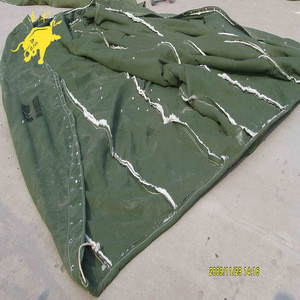 Canvas coat insulated cover used for concrete mixer truck drum