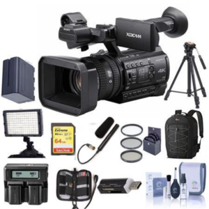 Cheap PXW-Z150 4K Handheld XDCAM Professional Camcorder With Free Accessory Bundle