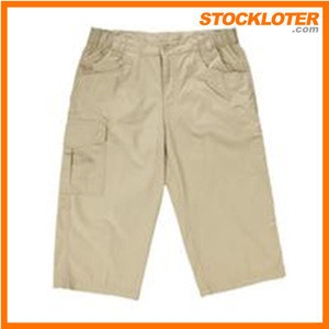 Childrens Stripes Double Ruffles Cotton Petti Shorts Girls Peasant Leggings cotton capris shorts Stock Lot