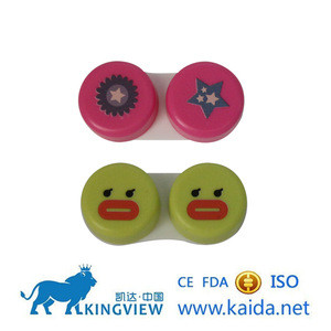 Custom color kids contact lenses with case