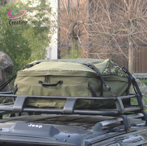 Custom Design Available waterproof Touring Travel Military Car Roof Top Bag