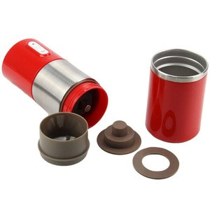 Electric Portable Conical Burr Coffee Grinder