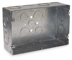 Electrical Box 47 Cu In 2 Gang