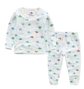 Factory wholesale cute printed pattern 100 cotton children long johns