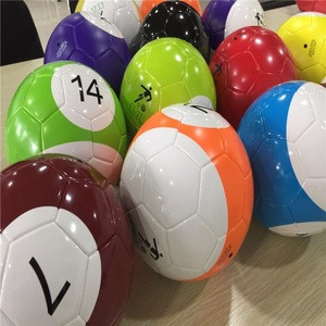 Free shipping ADS-CUZU new sport snooker football,size 5 balls for soccer billiards game on sale for all people