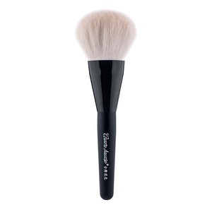 High end goat hair Makeup brush sets with private label customizing powder foundation cosmetic tools