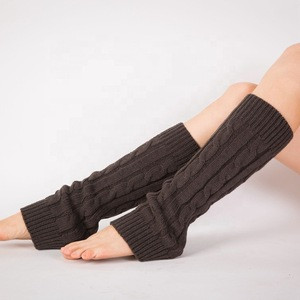 Hot sell high quality and comfortable women leg warmer for winter