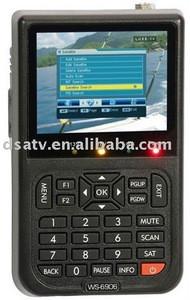Hot selling!SATLINK hd digital signal TV receiver satellite finder meter WS 6906