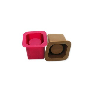Hot Silicone Ice Shot Glass Mold 1 cups Square Ice Cube Tray,