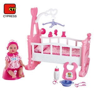 Juguetes Pretend Toys Crib Toy Doll For Kids Toy