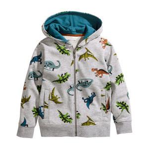 Kindegardon clothing  little boys zipper jacket online shopping children Winter warm coat with hood