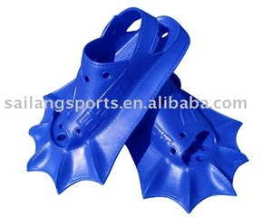 New amphibious swimming fins for both children and adult use
