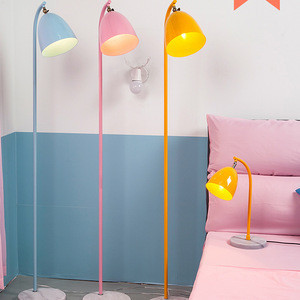 New Etching Iron LED Decorative Floor Lamps for Living Room Standing Lighting Factory Supply