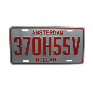 New model high security car number license plates