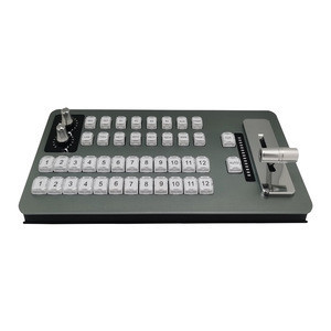 Newest factory supply multi Function  Switch Keyboard controller panel  for the audio video live broadcast system VIMIX software