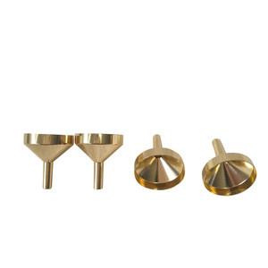 Ningbo mini small aluminum alloy cosmetic perfume funnel manufacturer