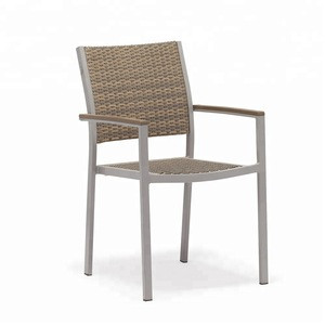 Outdoor Dining Rattan Plastic Wood Garden Yard Chair Price