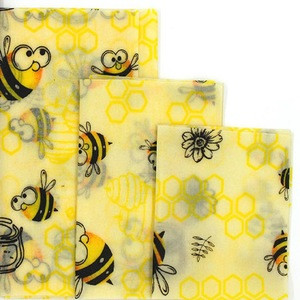 Packaging Organic Cloth Preservation Cloths Beeswax Wrapping Paper Eco Friendly Reusable Food Wraps Kitchen Tools